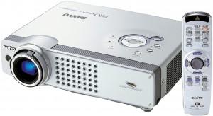 Sanyo PLC-SU51 projector, Sanyo POA-LMP65 service part no 610 307 7925