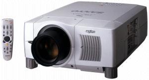 Sanyo PLC-XF45 projector, Sanyo POA-LMP49 service parts no 610 300 08