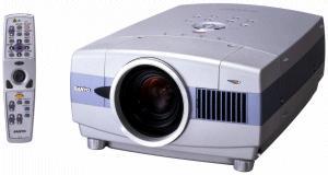 Sanyo PLC-XT10 projector, Sanyo POA-LMP48 service part no 610 301 7167