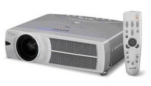 Sanyo PLC-SU45 projector, Sanyo POA-LMP63 service parst no. 610 304 5214