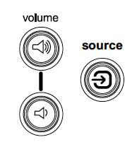 ASK Proxima DP-1200X volume buttons, ASK Proxima SP-LAMP-01