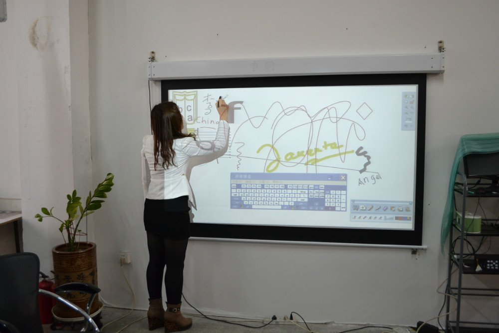 whiteboard use of screen