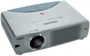 Sanyo PLC-XU35 projector, Sanyo POA-LMP35 service part no 610 29 32751